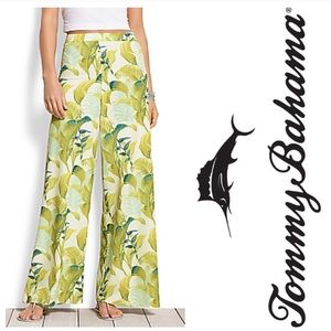 Tommy Bahama Montego Jungle Wide Leg Dress Pants